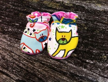 Baby Shoes - Kitty Kat