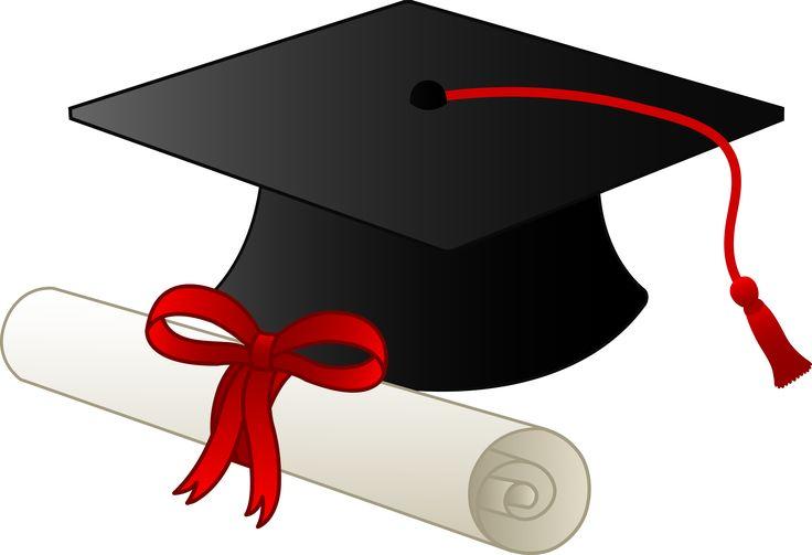 Graduation Clip Art Borders | Graduation Cap and Diploma - Free Clip Art