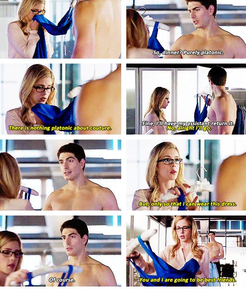 """#Arrow 3x07 """"Draw Back Your Bow"""" - Felicity and Ray"""