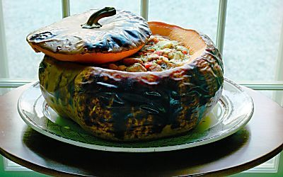 ... Stuffed Pumpkin on Pinterest | Pumpkin Recipes, Stuffing and Pumpkin