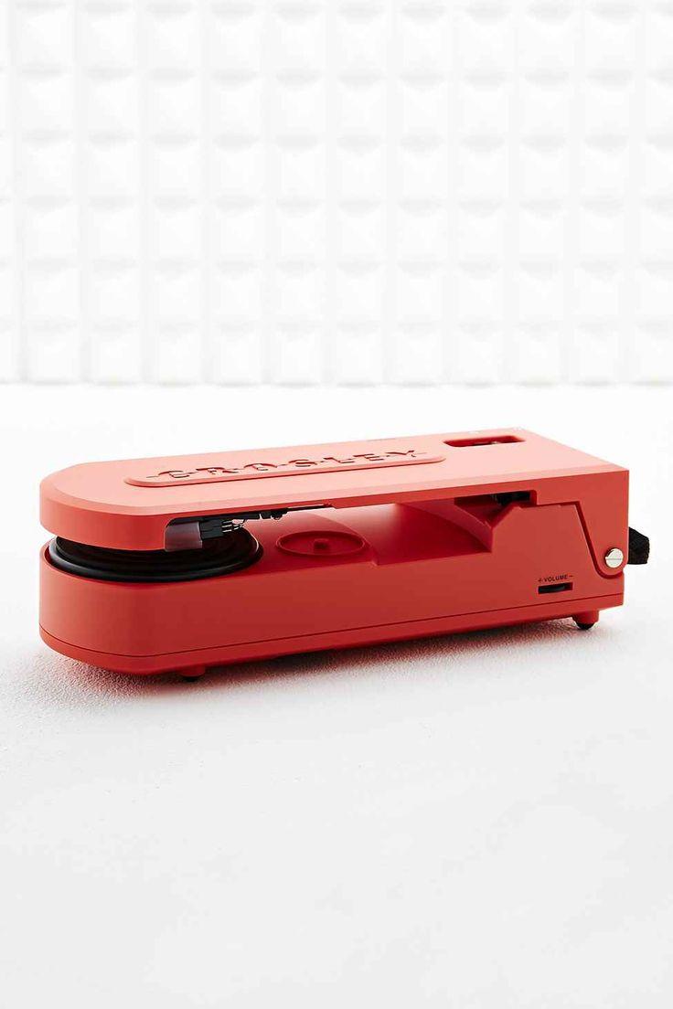Crosley Revolution Portable Turntable in Orange EU Plug