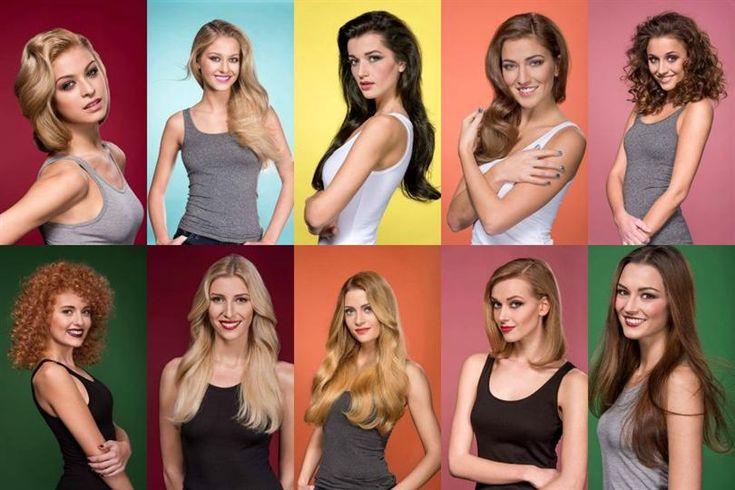 Ceska Miss 2016 Beauty Portraits