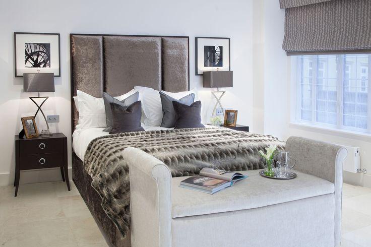 Master Bedroom Interior   JHR Interiors