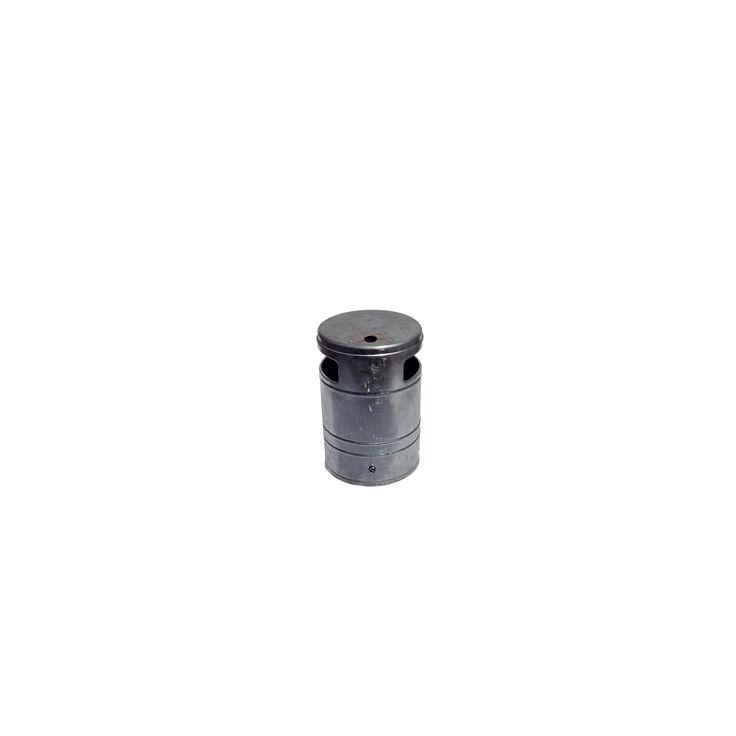 Abfallbehälter ca. 40L mit Ascher #Abfallbehälter #Abfall #Behälter #Müllbehälter #Müll #Entsorung #Abfallentsorgung #Ascher #VKSB