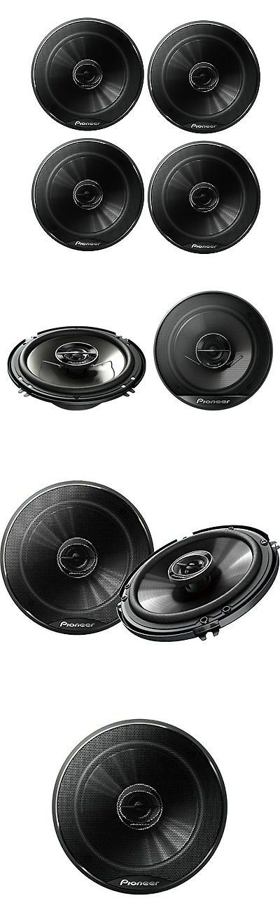 Car Speakers and Speaker Systems: 4 X Pioneer Ts-G1645r 6.5 250W Full Range Coaxial Car Stereo Speakers - 2 Pair -> BUY IT NOW ONLY: $77.99 on eBay!