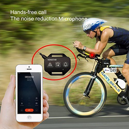 Wireless Speaker, Venstar Waterproof Sport Portable Bluetooth Speaker, 6w Strong Speaker Driver Passive Radiator with Remote Controller and Metal Hook Loop for Outdoor Sports Travel Bicycle Cycling http://coolbike.us/product/wireless-speaker-venstar-waterproof-sport-portable-bluetooth-speaker-6w-strong-speaker-driver-passive-radiator-with-remote-controller-and-metal-hook-loop-for-outdoor-sports-travel-bicycle-cycling/