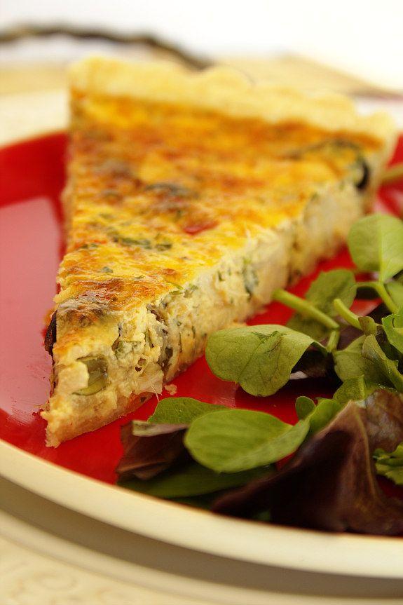 Cinco Quartos de Laranja: Tarte de bacalhau com azeitonas