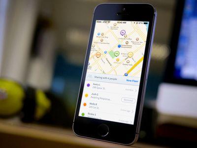Flaer - iPhone UI