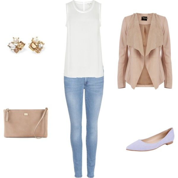 A fashion look from April 2015 featuring Reiss tops, Oasis jackets and 7 For All Mankind jeans. Browse and shop related looks.