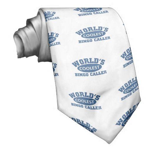 Coolest Bingo Caller Neck Wear