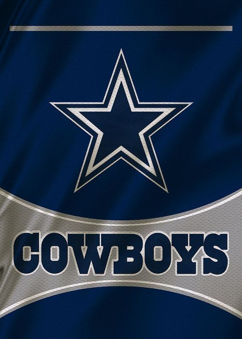 Dallas Cowboys Uniform Greeting Card