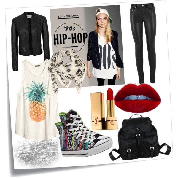 """90's Hip-Hop"" by ekamulya on Polyvore"