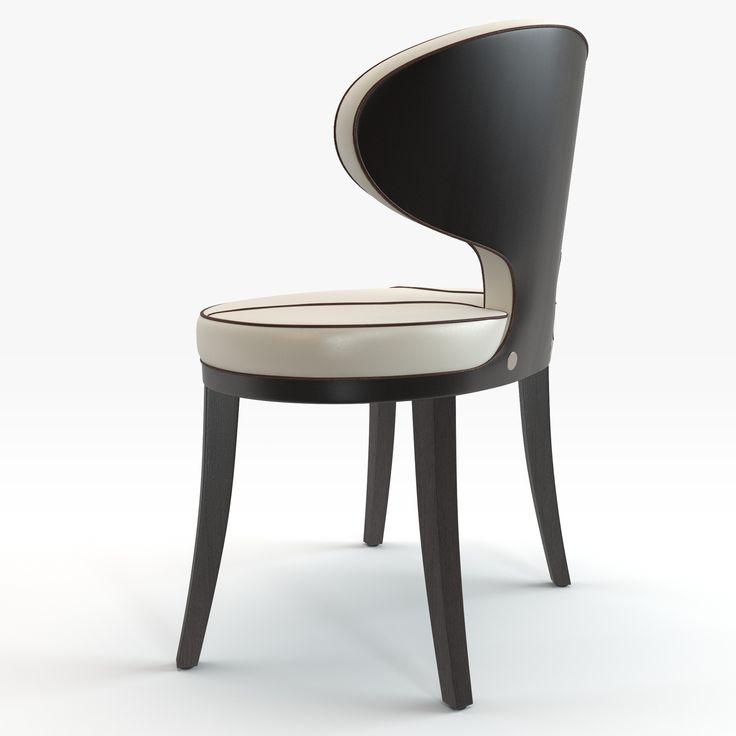 Italian modern chair design - Bra von Schönhuber Franchi. 3D model by RenderJoy