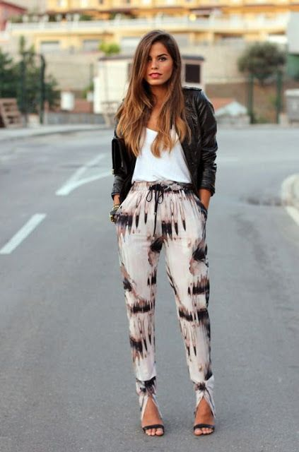 How to Wear Printed Pants!