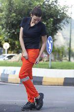 Pantalone Pantaloni da Lavoro Donna Alta visibilità tasche Abbigliamento abiti