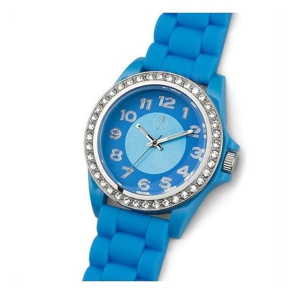 Reloj señora Funky silicona blue