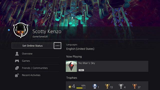 4.00 beta User Profile