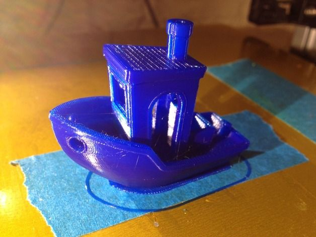 #3DBenchy - The jolly 3D printing torture-test by Zinneke