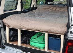 Citroen Berlingo & Peugeot Partner camper van conversion module.                                                                                                                                                     More