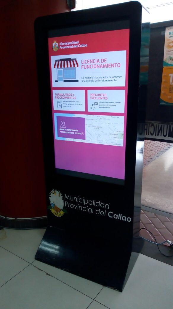 Sistema web de licencia de funcionamiento para atención al publico