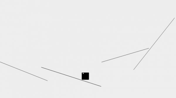 Line Square Dot (LSD) is a wonderfully minimalist and quite addictive collision JavaScript game by Franz Enzenhofer.