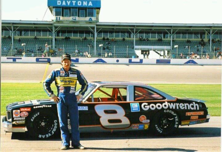 Dale driving his Ralph Earnhardt's famous #8 http://www.picturetrail.com/legend3