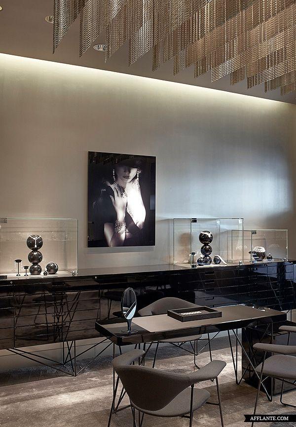 Burma Jewelry Boutique in Paris, France designed by Atelier Du Pont