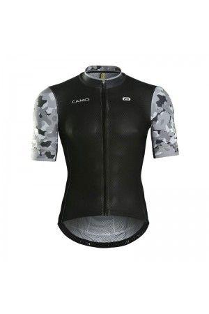 2016 Mens Road Bike Jerseys CAMO Disguiser Grey