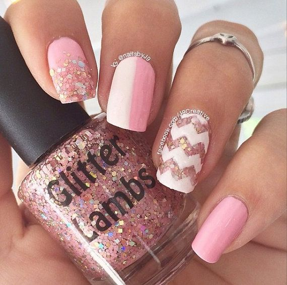 Shimmer And Sparkle Nail Polish: 1000+ Ideas About Glitter Nail Polish On Pinterest