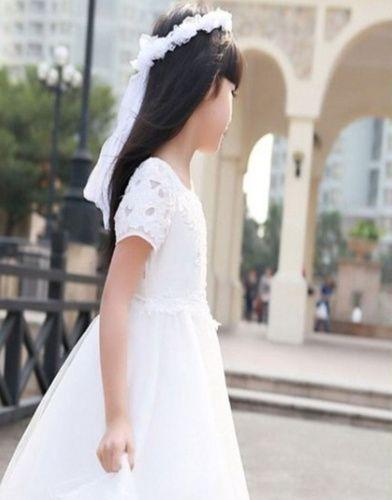 Gorgeous Flower Girl Halo - White, AU$7.95