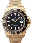 Rolex Oyster Perpetual GMT Master II Hombres 116718BK