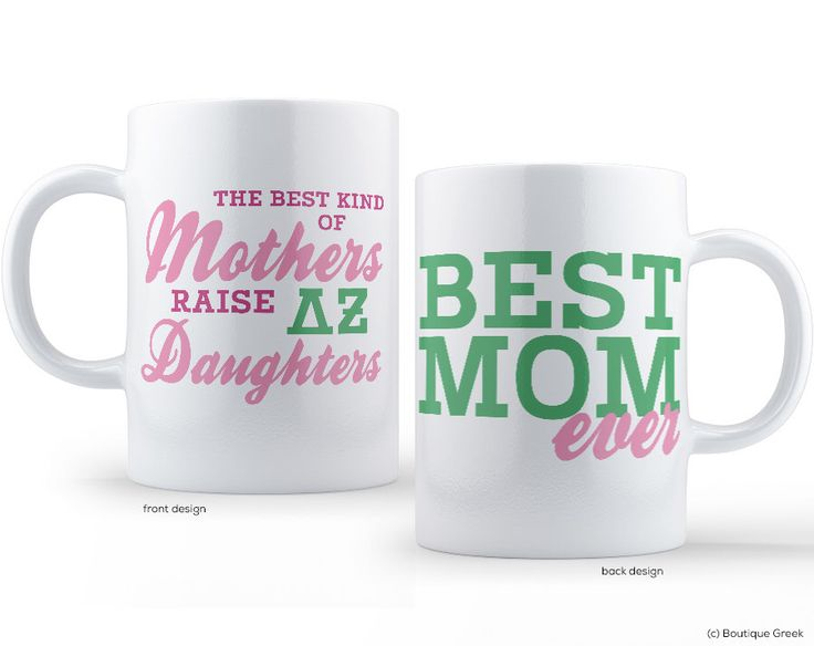 DZ Delta Zeta Best Mom Sorority Mug by BoutiqueGreek on Etsy https://www.etsy.com/listing/202810293/dz-delta-zeta-best-mom-sorority-mug