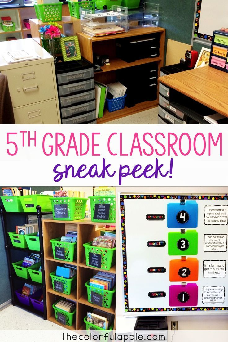A quick peek into my 5th grade classroom!