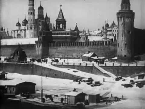 Москва в снежном убранстве - 1908. Немой документальный фильм/ Silent do...