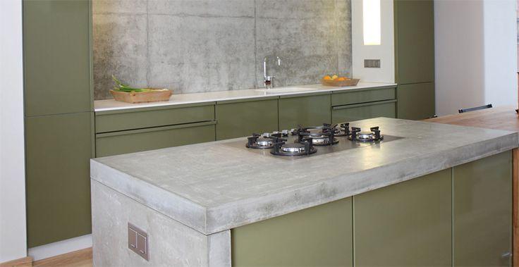 united colors of beton | küche | wohnen | arbeitsplatten aus beton ... | {Arbeitsplatte küche beton 20}