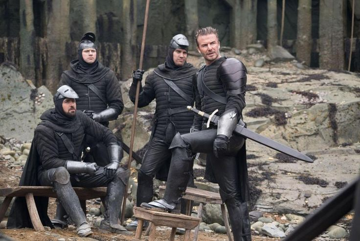 First look of David Beckham in King Arthur: Legend of the Sword dropped