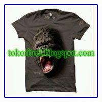 Kaos 3D gorila FF00356 - http://tokoritrel.blogspot.com/2013/09/kaos-3d-gorila-ff00356.html#.Uj6AmtKBlII
