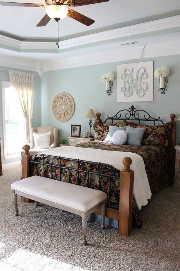 15 Colorful Master Bedrooms | Diy home decor bedroom, Home ...