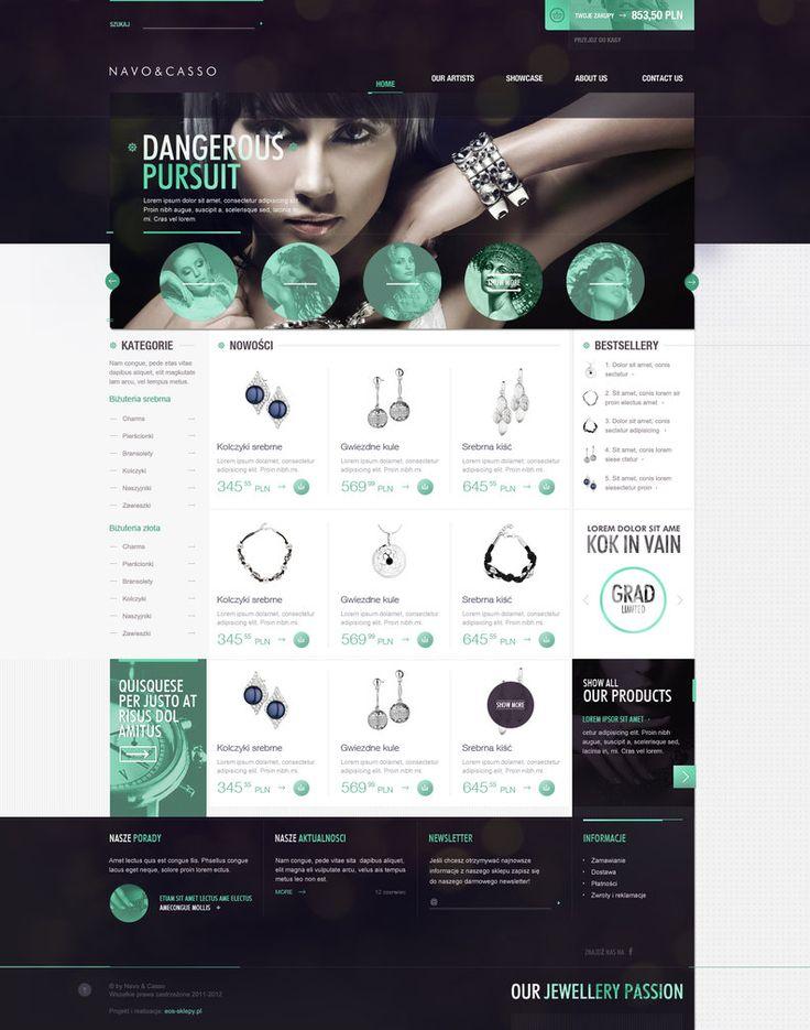 Inspiration webdesign pinterest design och inspiration for Decorating sites