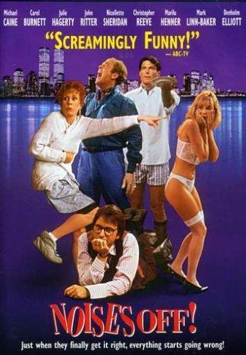 Noises Off (1992 / DVD) Michael Caine, Carol Burnett, Denholm Elliott, Julie Hagerty, Marilu Henner