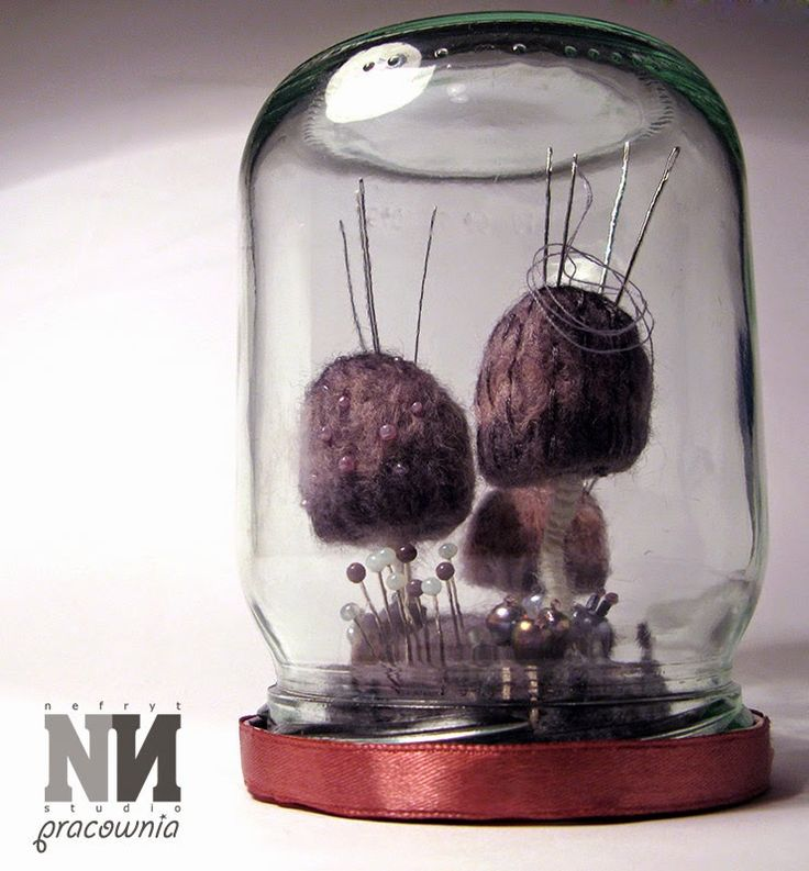 Nefryt Studio - Pracownia: Grzybowy igielnik