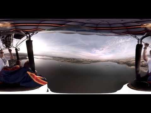Balloon flight - Full 360 movie in 4K! - YouTube