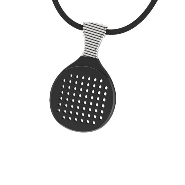 Silver beach Racket    #jewellery #fashion #accessories #greekdesigners #jewelry #necklace #pendant #style www.gpjewellery.com