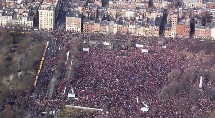 Women's March Is The Biggest Protest In US History As An Estimated 2.9 Million March... and don't forget the cities all over the World that marched as well!!