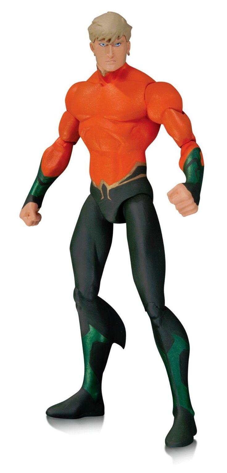 Aquaman Justice League Throne of Atlantis DC Animated Movie Action Figure | eBay