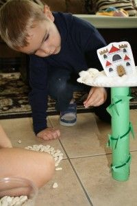 Jack and the Beanstalk balancing game...also good compound word and abc order game linked to this page