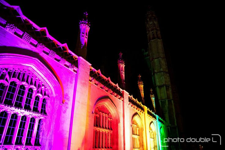 Colour Shift at King's College by Susie Olczak and Pulsar