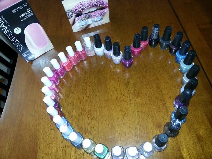 Mi nail collection♥♥♥