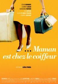 Film Maman est chez le coiffeur avec Marianne Fortier (placée par l'agence Mode é arto)