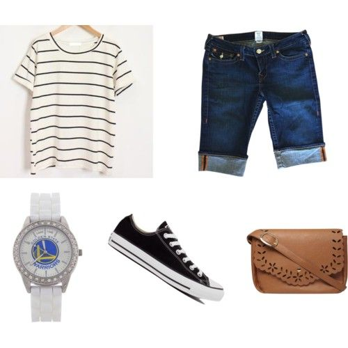 by adilaanindya on Polyvore featuring polyvore fashion style Momewear True Religion Converse Dorothy Perkins Game Time